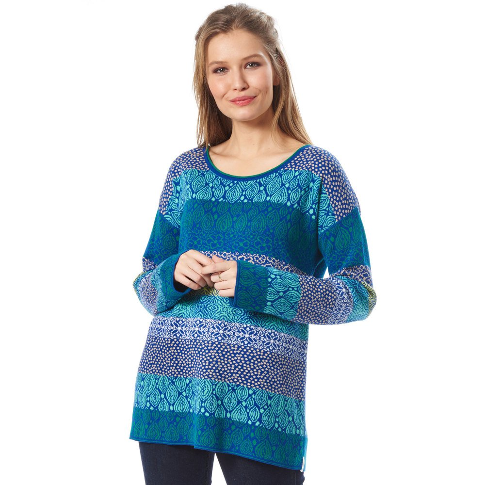 Sweater 'Biana', blau