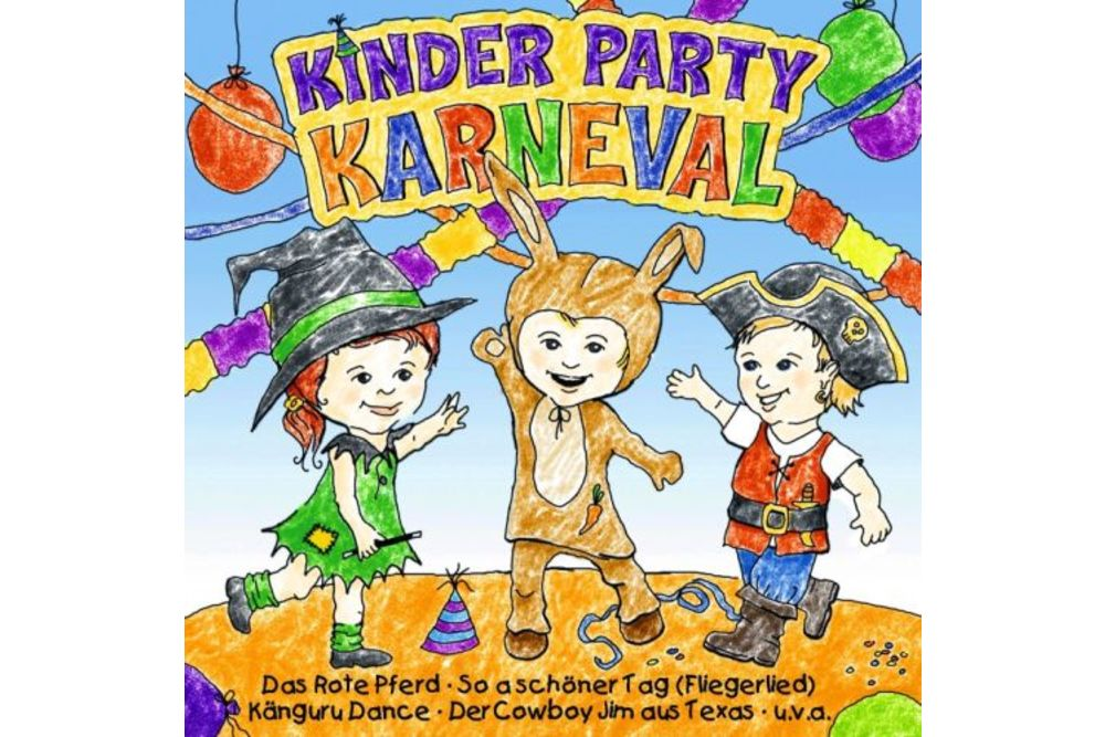 Kinder Party Karneval 21 Kinderlieder Fur Fasching Kar