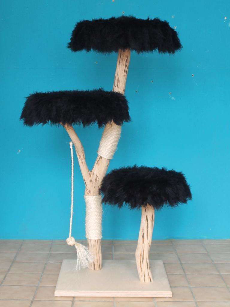 kratzbaum naturholz 145 cm naturkratzbaum 0682 diworo. Black Bedroom Furniture Sets. Home Design Ideas