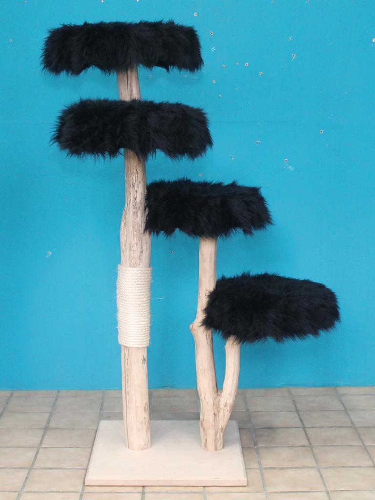kratzbaum naturholz 158 cm naturkratzbaum 0678 diworo. Black Bedroom Furniture Sets. Home Design Ideas