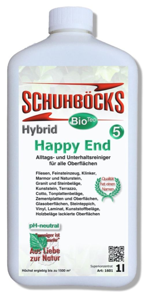 Nr. 5 Hybrid Happy End- Alltagsreiniger 1 Liter
