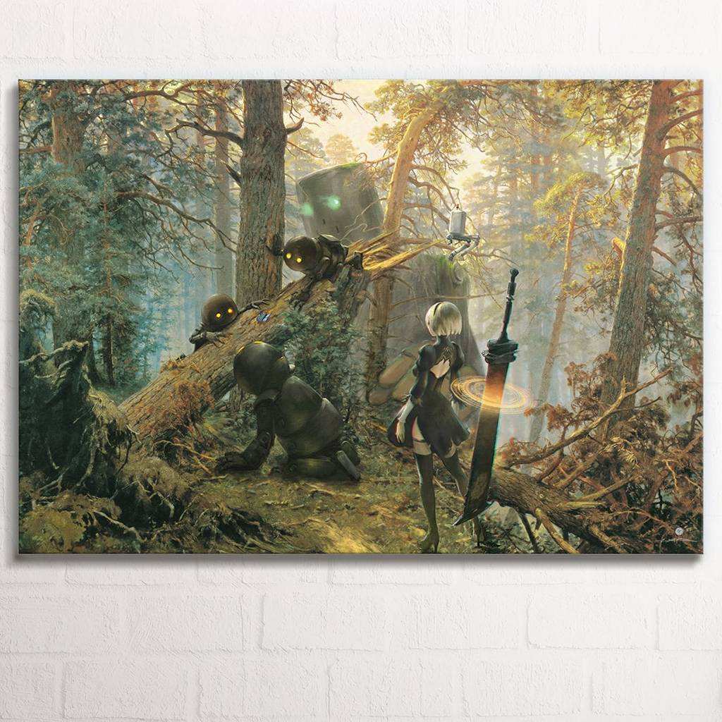 Nier - forest - 1 panel canvas