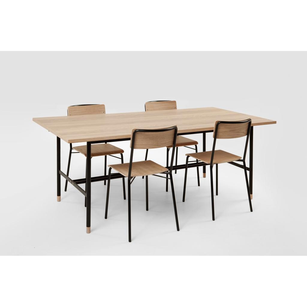 Ausziehbarer Esstisch Aus Holz 200 Cm