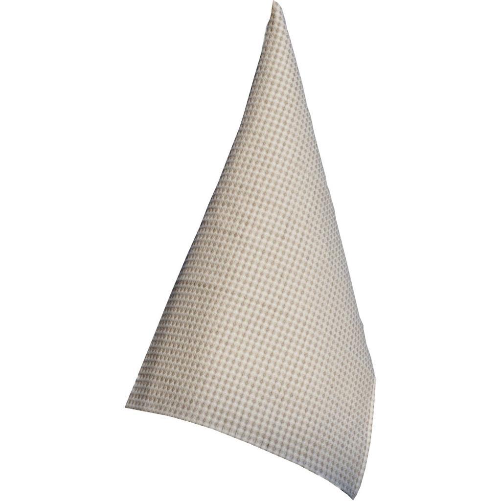 geschirrt cher leinen waffelpique in beige wei. Black Bedroom Furniture Sets. Home Design Ideas