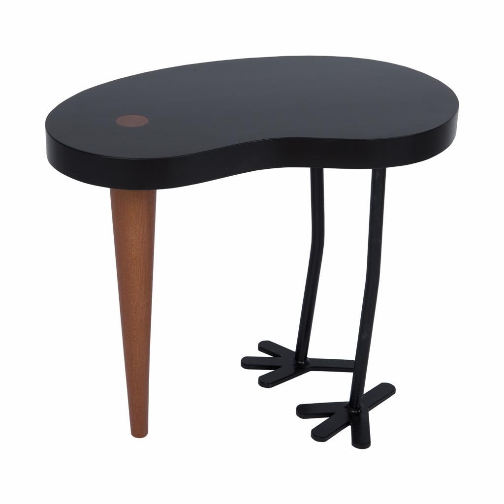 Hocker beistelltisch tibu in schwarz jetzt online kaufen for Beistelltisch design schwarz