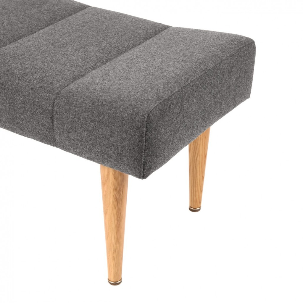 Hocker retro design grau