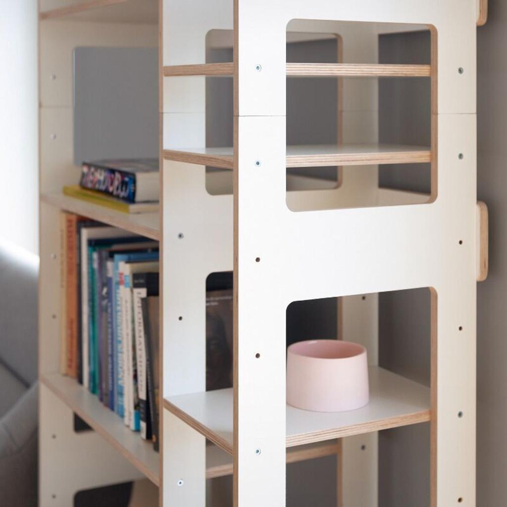 Bücherregal Lift Kleines Regal In Weiß