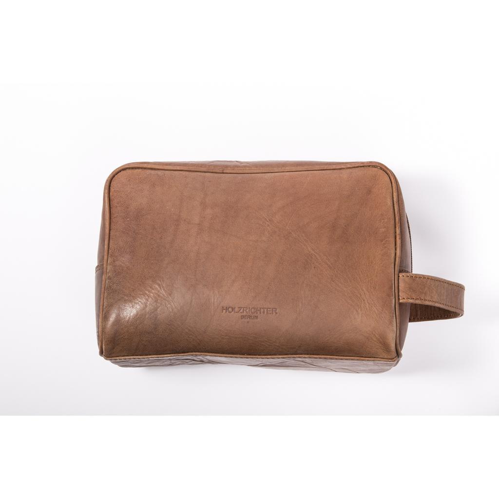 gro e handgefertigte kulturtasche aus leder hochwertige waschbeutel waschtasche f r herren. Black Bedroom Furniture Sets. Home Design Ideas