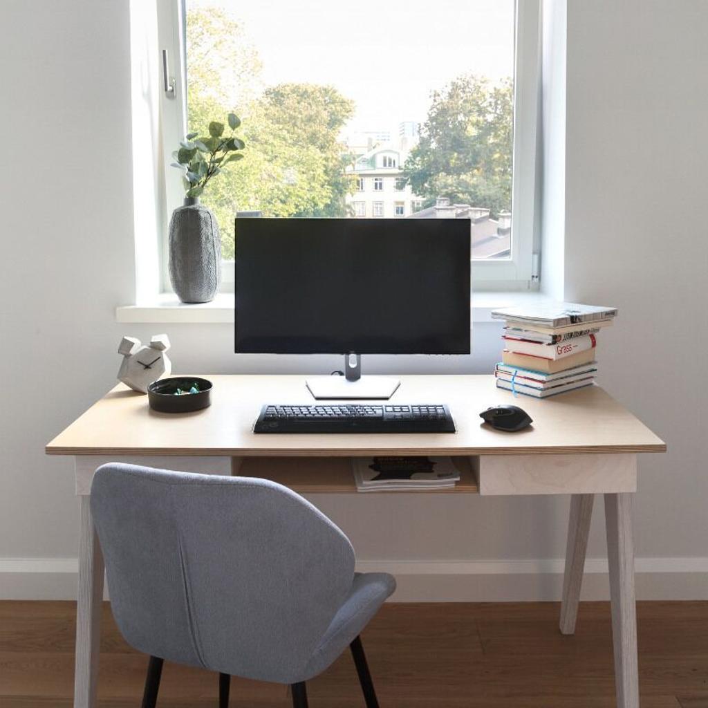 Schreibtisch b rotisch aus holz - Schreibtisch skandinavisch ...