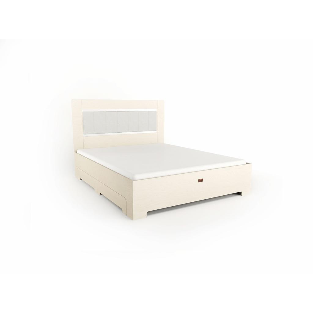 Nordisches Wohndesign: Bett TU:L+ Aus Massivholz In Weiß Mit Schubladen