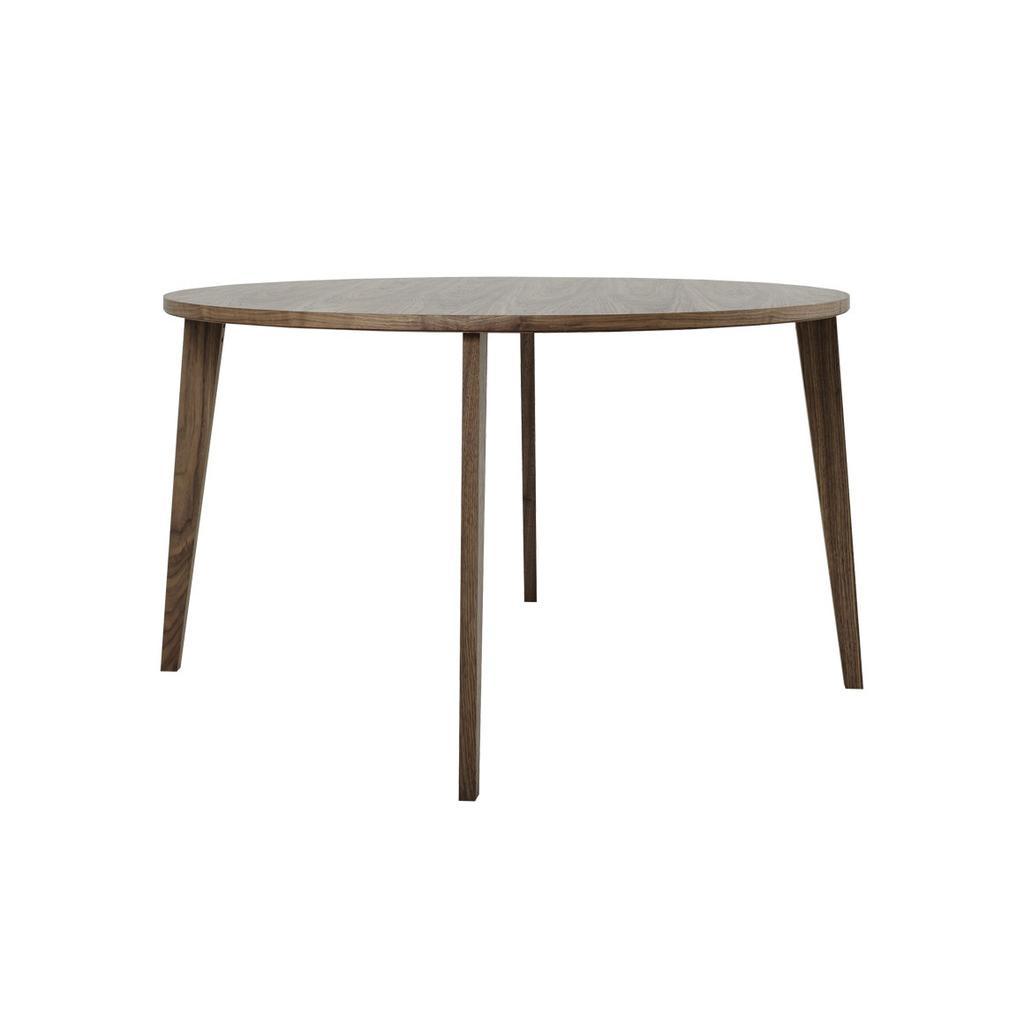 Esstisch rund Ø 130 cm aus Nussbaum - Mint Furniture