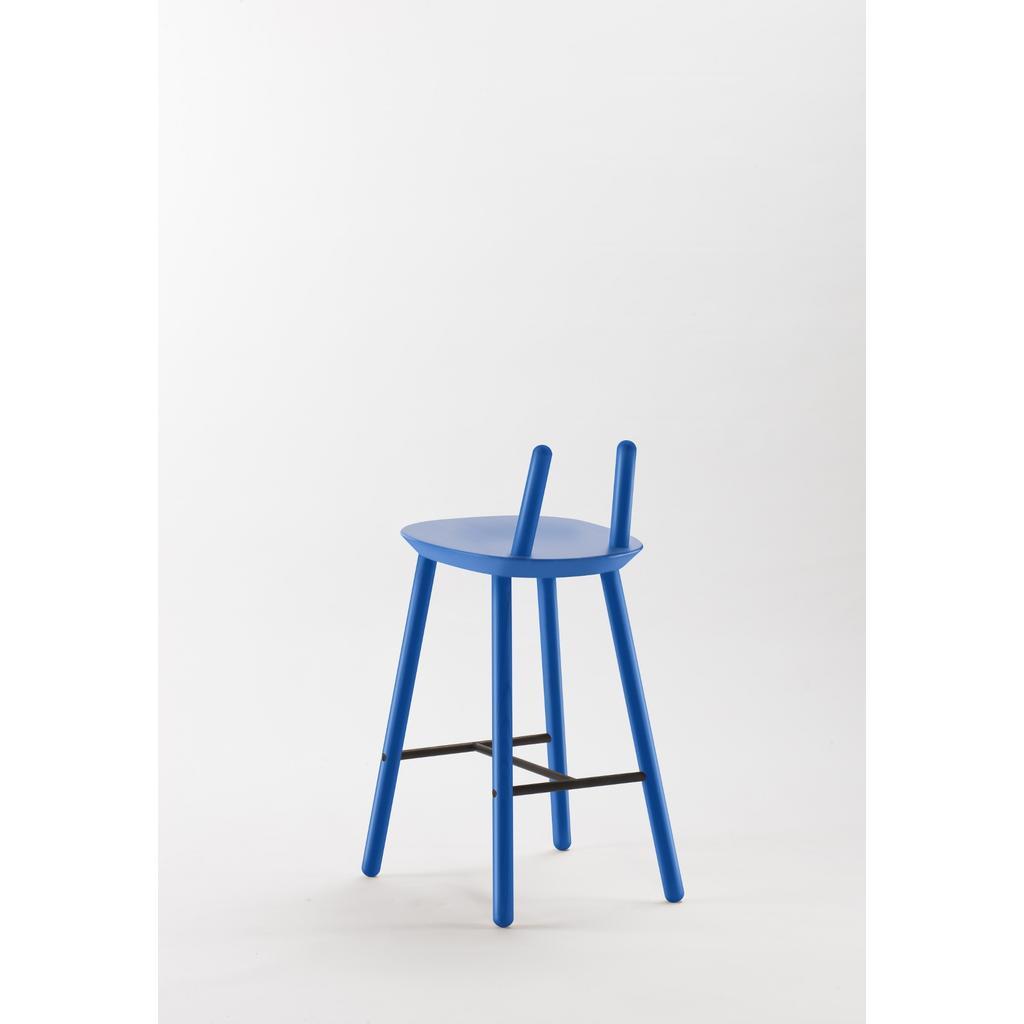 barhocker na ve mit r ckenlehne blau. Black Bedroom Furniture Sets. Home Design Ideas