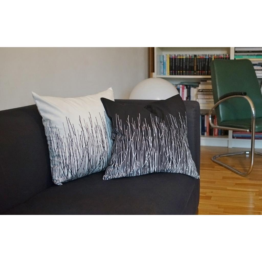 sofakissenbez ge 45x45 schwarz wei nordisches design. Black Bedroom Furniture Sets. Home Design Ideas