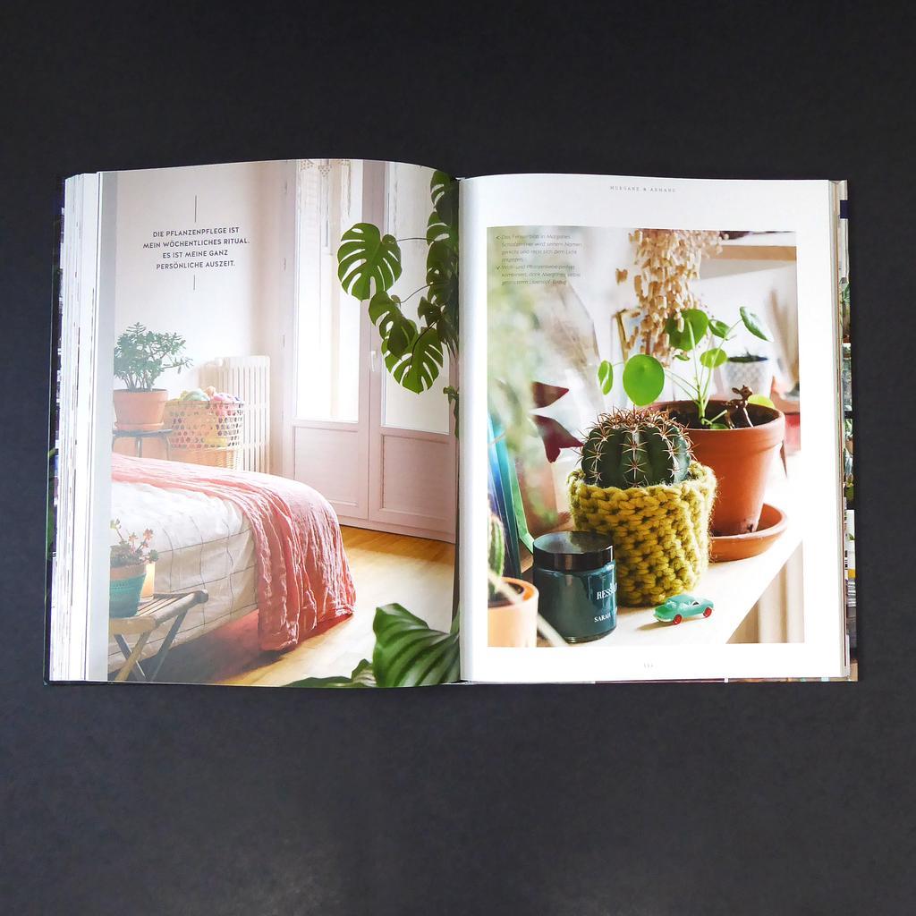 buch wohnen in gruen kaufen the botanical room. Black Bedroom Furniture Sets. Home Design Ideas