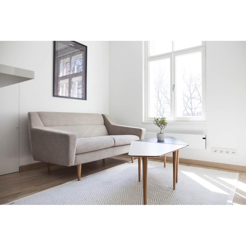 wohnzimmertisch cosmo wei retro look. Black Bedroom Furniture Sets. Home Design Ideas