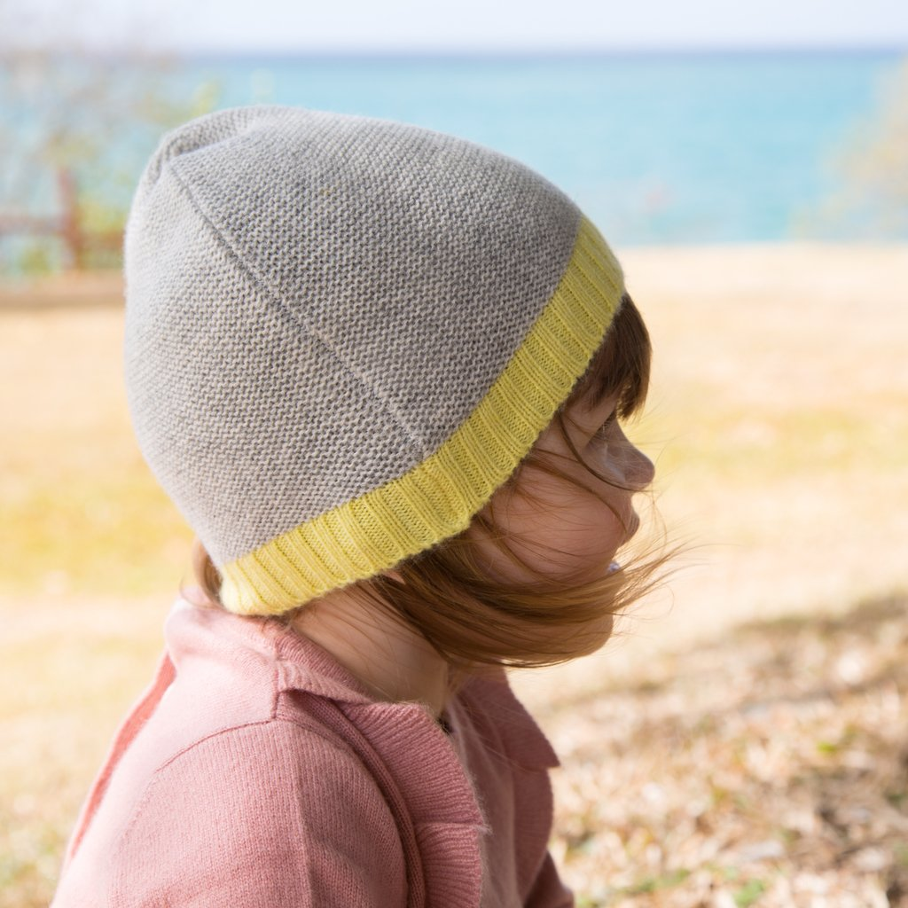 90566270 purl knit hat for babies and children