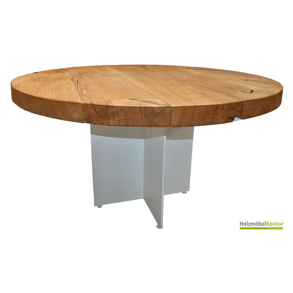 Runder tisch eiche modern 120cm for Runder esstisch modern
