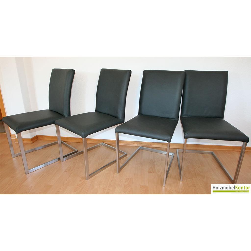 freischwinger stuhl stoff oder lederbezogen echtleder. Black Bedroom Furniture Sets. Home Design Ideas