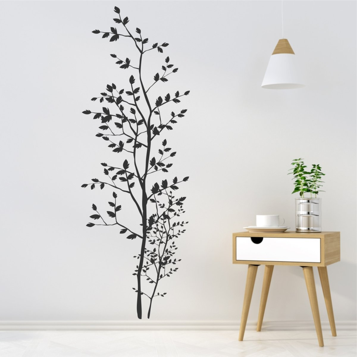 greenluup wandtattoo baum wandtattoo ast baum unbestimmt kaufen greenluup. Black Bedroom Furniture Sets. Home Design Ideas