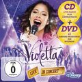 Violetta (CD+DVD, Soundtrack) Live in Concert (Deluxe, Staffel 2, Vol. 2)