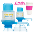 Agua Quick - Yong collection/ Das Original 2 x Pumpen YCB  - Gratis COTOGO rose