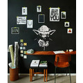 DJ YODA Sound Wandsticker Streetart Beat Sticker