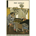 Wiener Werkstätte postcard 531 The Chess players