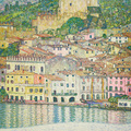 Gustav Klimt, MALCESINE ON LAKE GARDA