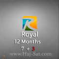 Royal IPTV Subscription 12 Months x 7+3 Free