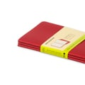 Moleskine Cahier Rot /Red