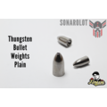 Tungsten Bullet Weights Plain Bullet Weights Plain 3/4 Oz = 21g