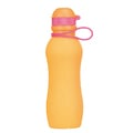 2 Pompe Cristaline avec Viv 500ml orange