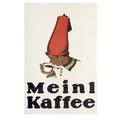 Advertising poster 1924 Meinl Kaffee