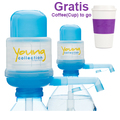 Agua Quick - Yong collection/ Das Original 2 x Pumpen YCB  - Gratis COTOGO Lila