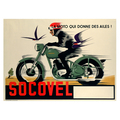 Advertising poster 1948 Socovel