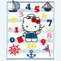Hello Kitty - Learning Numbers - kruissteekpakket met telpatroon Vervaco
