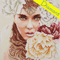 Enchanting Eyes - Diamond Painting pakket - Lanarte