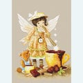 Chocolate Fairy - borduurpakket met telpatroon Luca-S