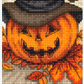 Trick or Treat - borduurpakket met telpatroon Letistitch