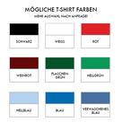 Farbauswahl. T-Shirts.
