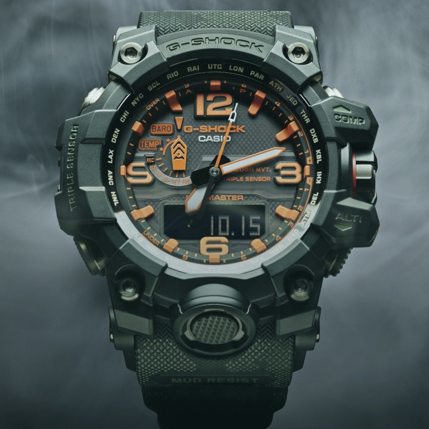 Casio G-Shock Mudmaster x Maharishi British Bonsai Forest GWG-1000MH-1AER