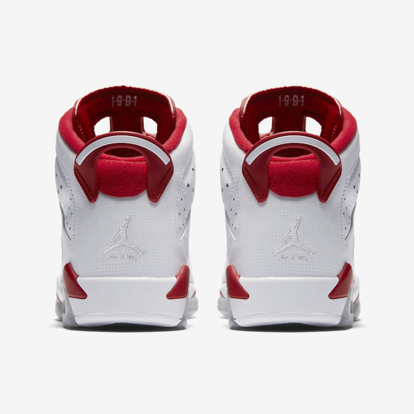 Jordan Air Jordan 6 Retro Alternate GS White / Pure Platinum / Gym Red 384665-113