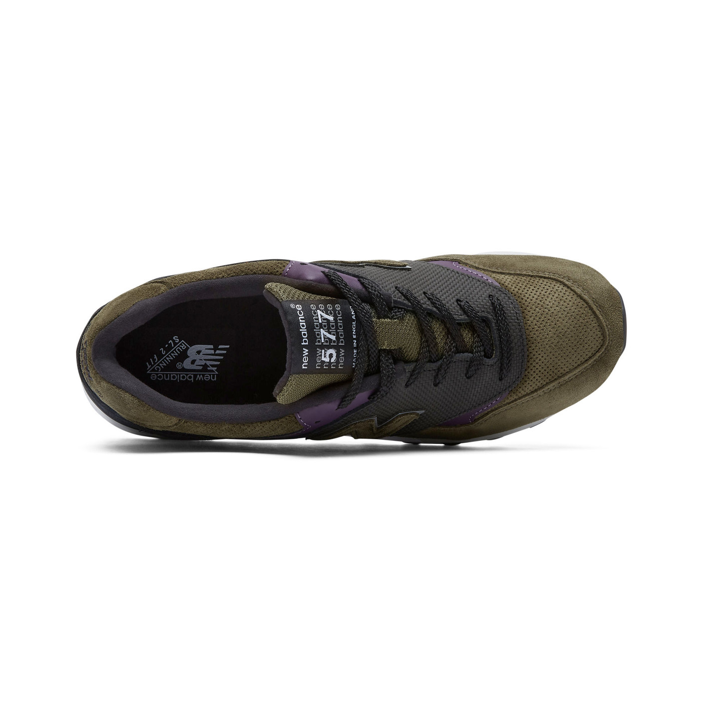 New Balance M577 GPK - Made in England Olive / Purple / Black M577GPK