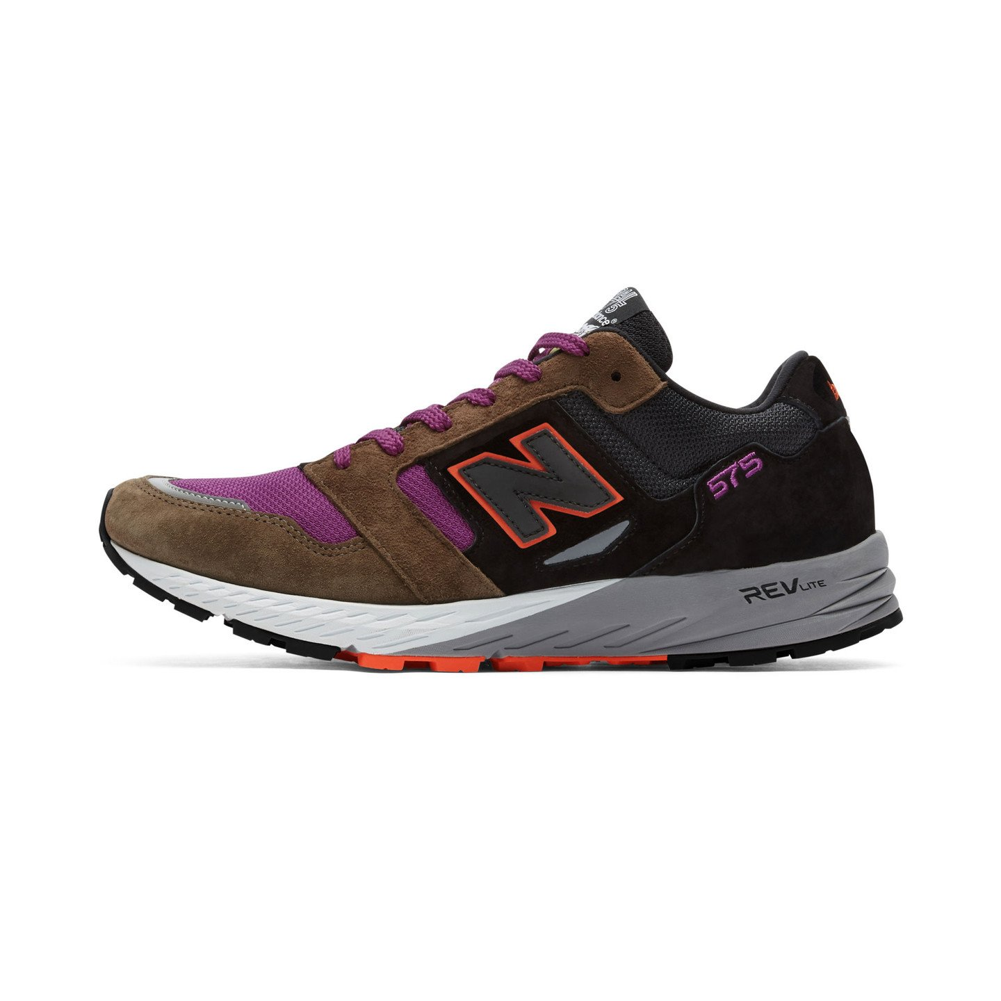 New Balance MTL575 KP - Made in England Dark Olive / Orange / Plum MTL575KP