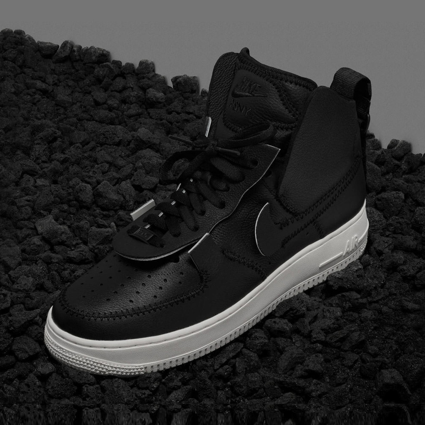Nike Air Force 1 High / Low x PSNY Black / Sail AO9292-002