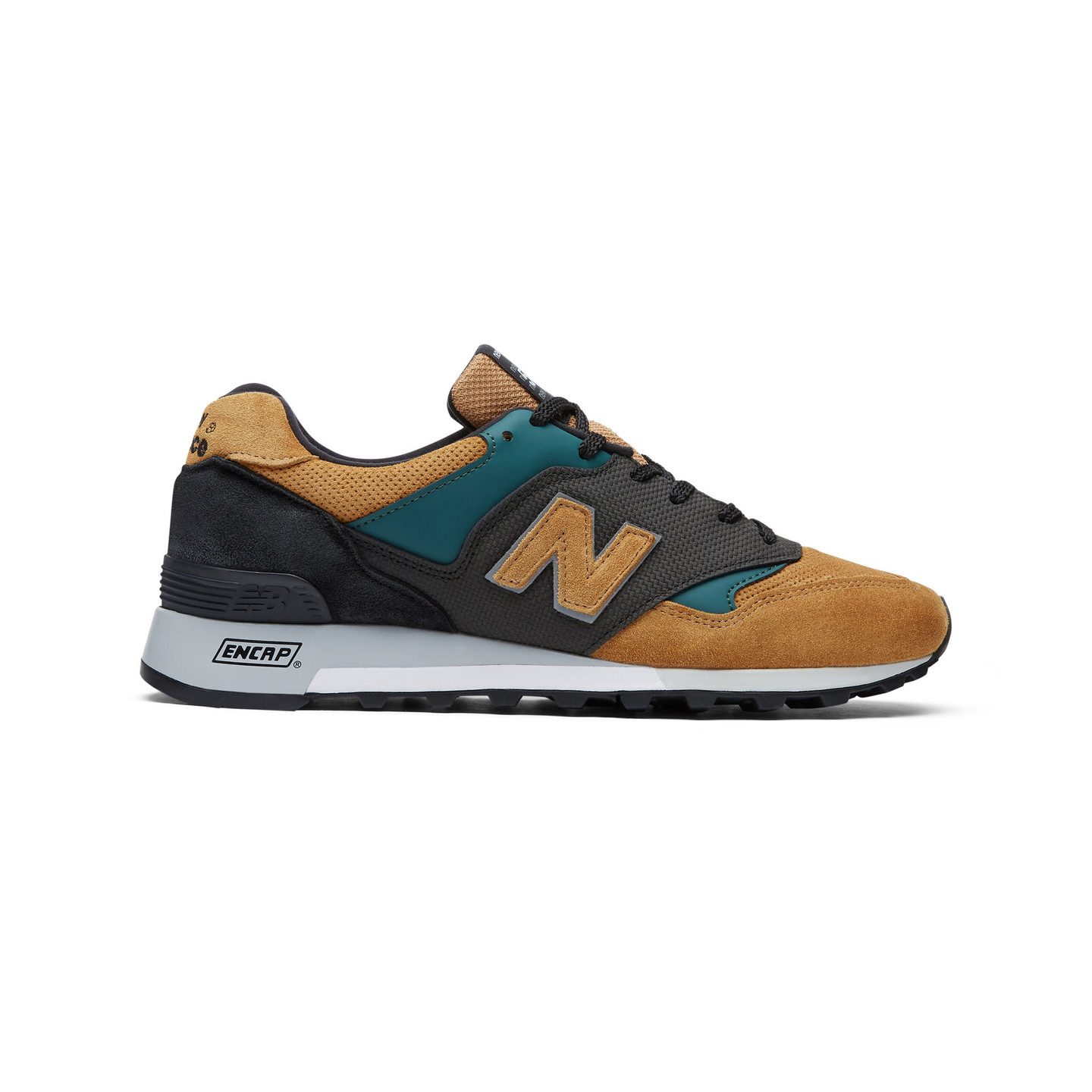 New Balance M577 TGK - Made in England Tan / Petrol / Black M577TGK
