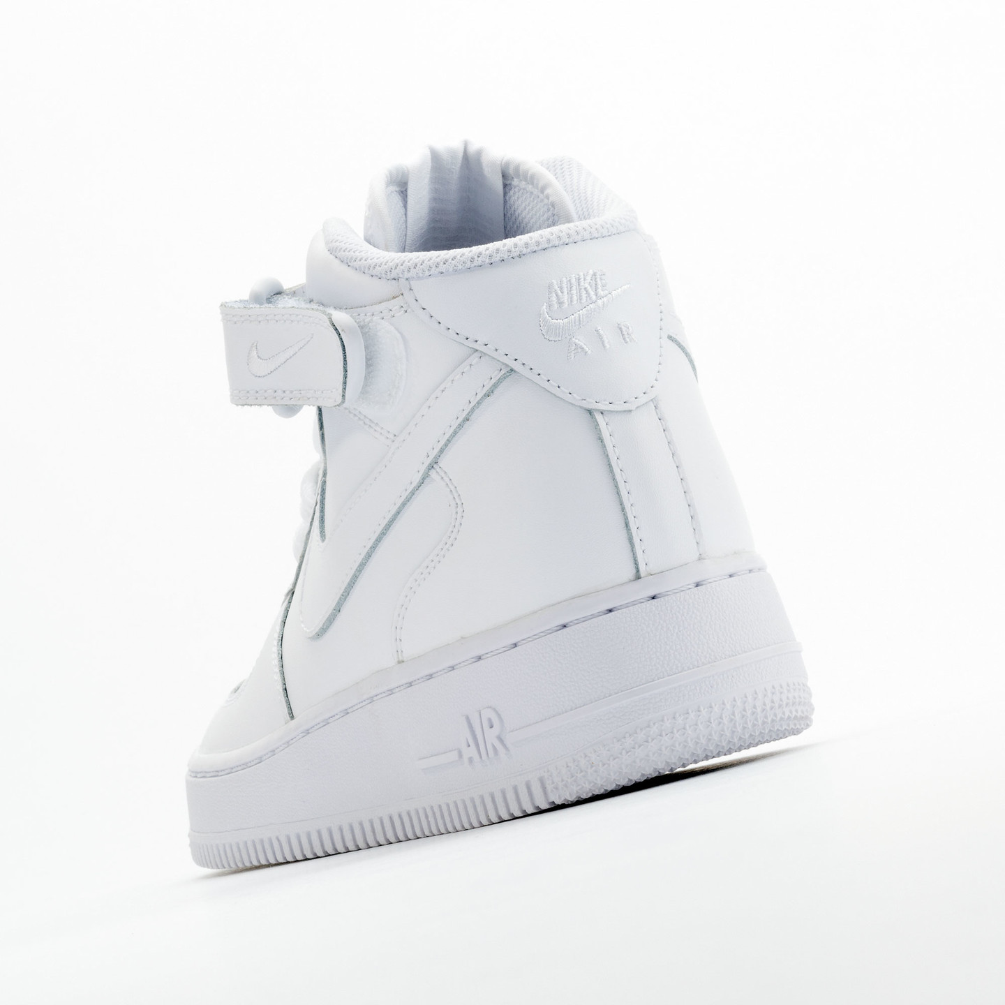 Nike Air Force 1 Mid GS White / White 314195-113-37.5