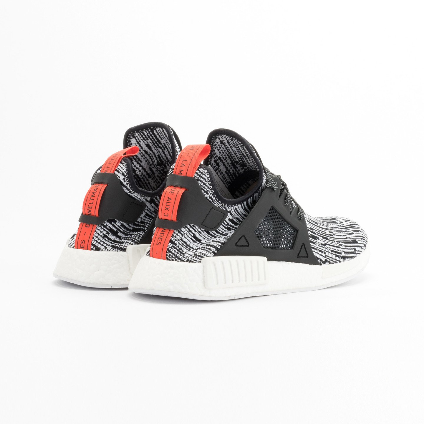 Adidas NMD XR1 Primeknit Running White / Core Black / Semi Solar Red S32216-42