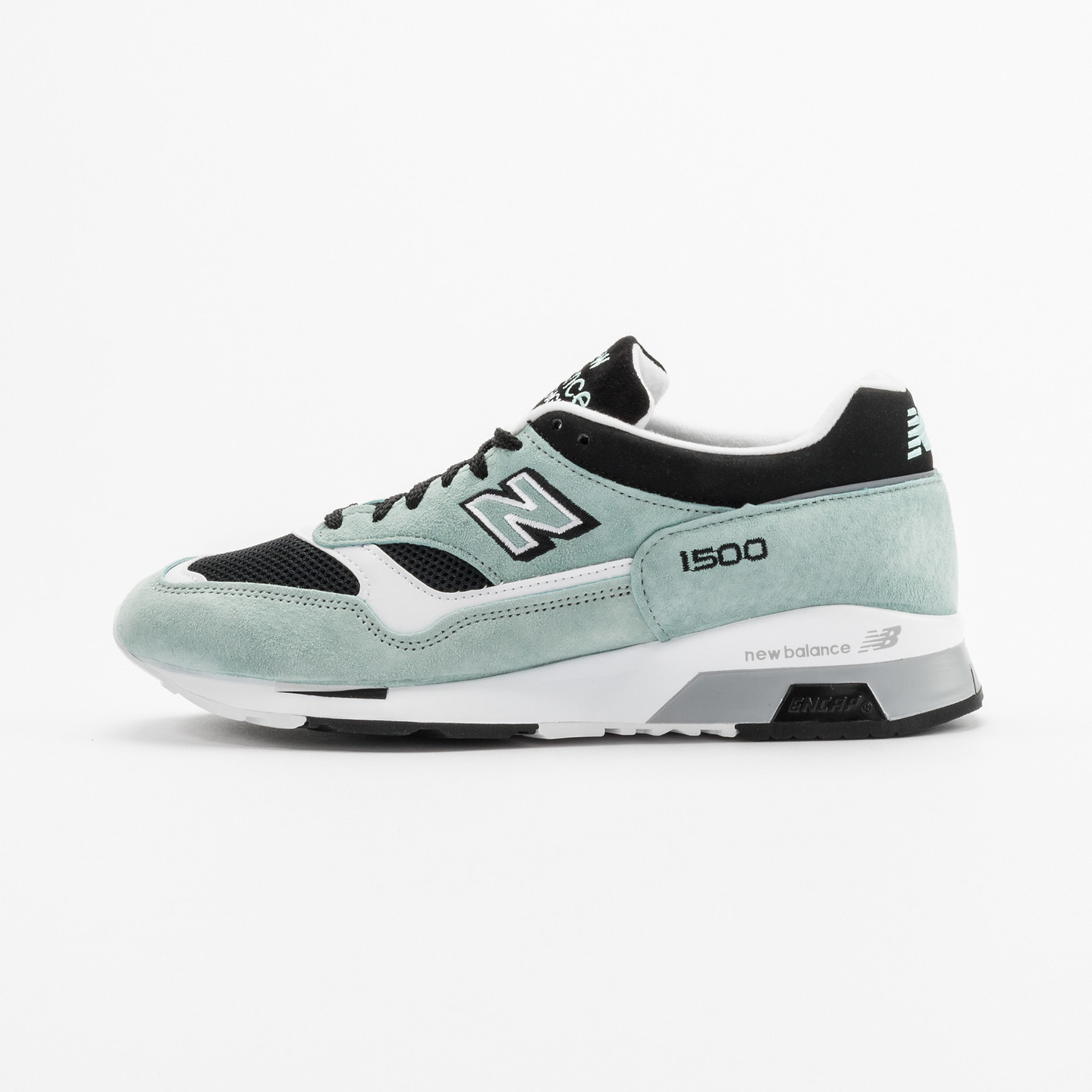 New Balance M1500 MGK - Made in England Mint / Black / White M1500MGK