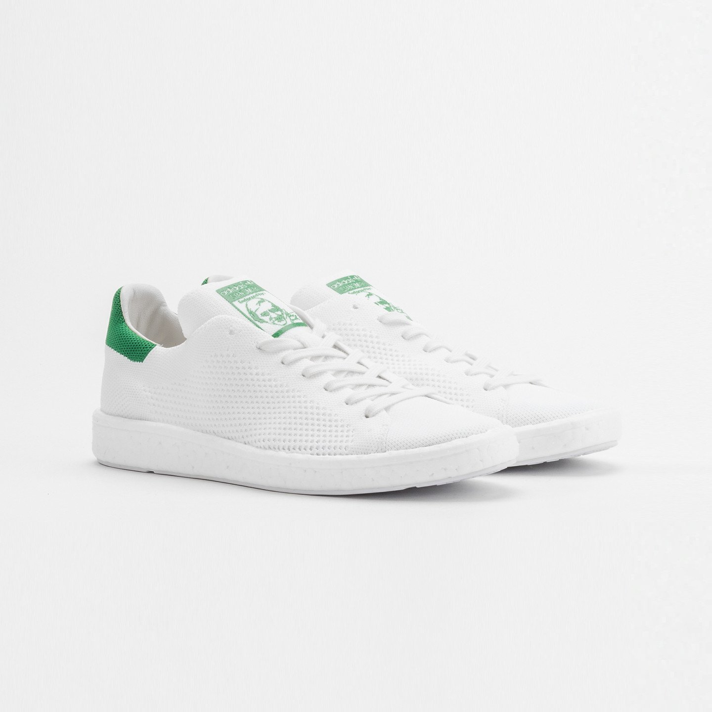 Adidas Stan Smith Boost PK Ftwr White / Green BB0013